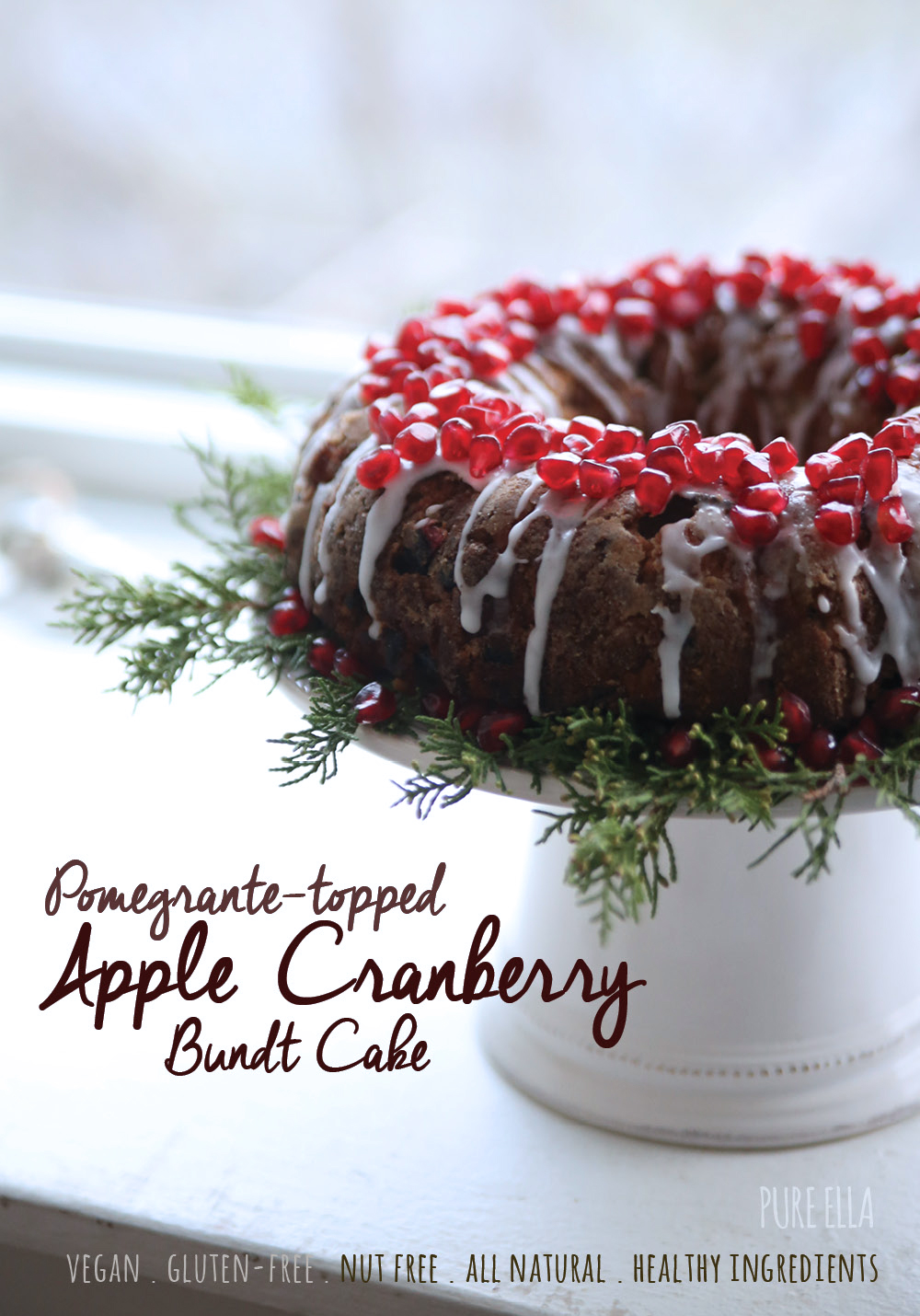 Pomegranate Bundt Cake Recipe